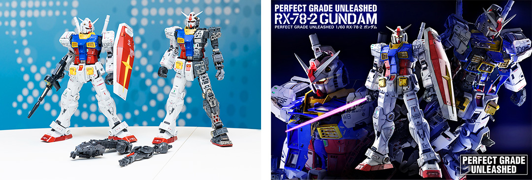 『PERFECT GRADE UNLEASHED 1/60 RX-78-2 ガンダム』