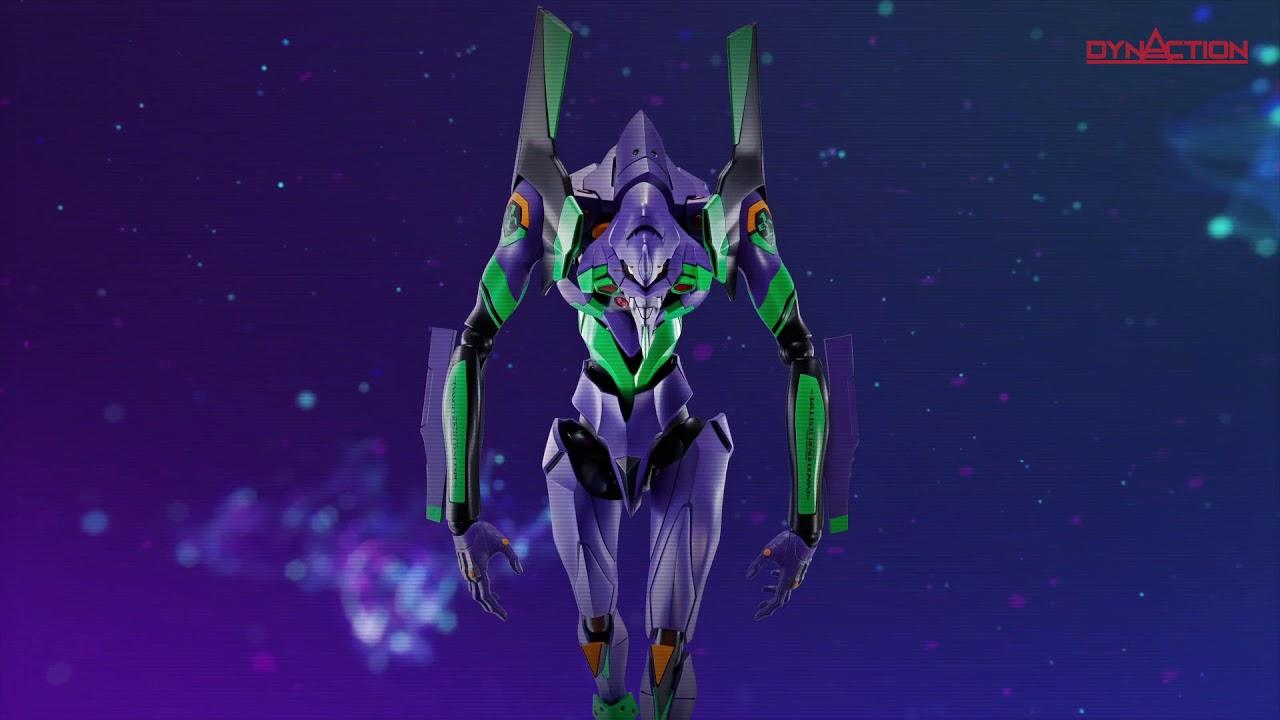 超巨大×超可動 DYNACTION 汎用ヒト型決戦兵器 人造人間エヴァンゲリオン初号機 PV