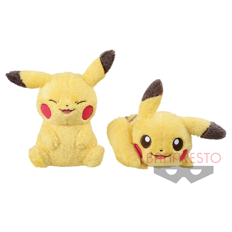 Pokémonlife with PIKACHU でっかいぬいぐるみ~ピカチュウ~