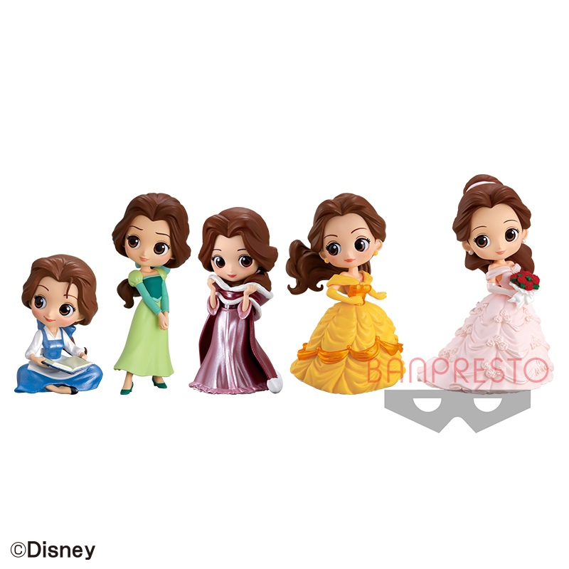 Disney Characters Q posket petit Story of Belle