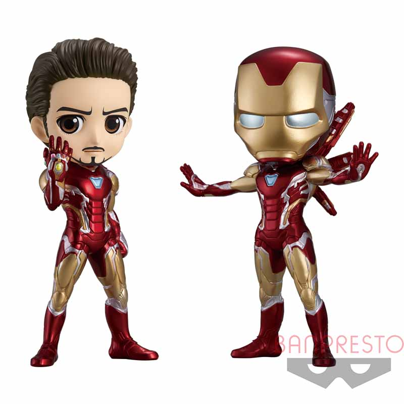 Q posket MARVEL -IRON MAN- Battle Ver.